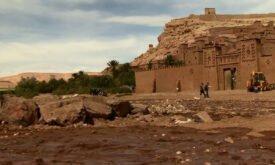 съемки в Марокко
