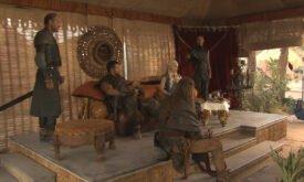 Дени соблазняет богатством командиров наемников (Дейенерис, Даарио, Серый червь, Меро и Джорах Мормонт)