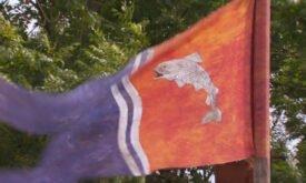 Знамя с форелью дома Талли