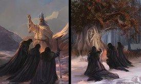 Клятвы Ночного Дозора (септону и старым богам)