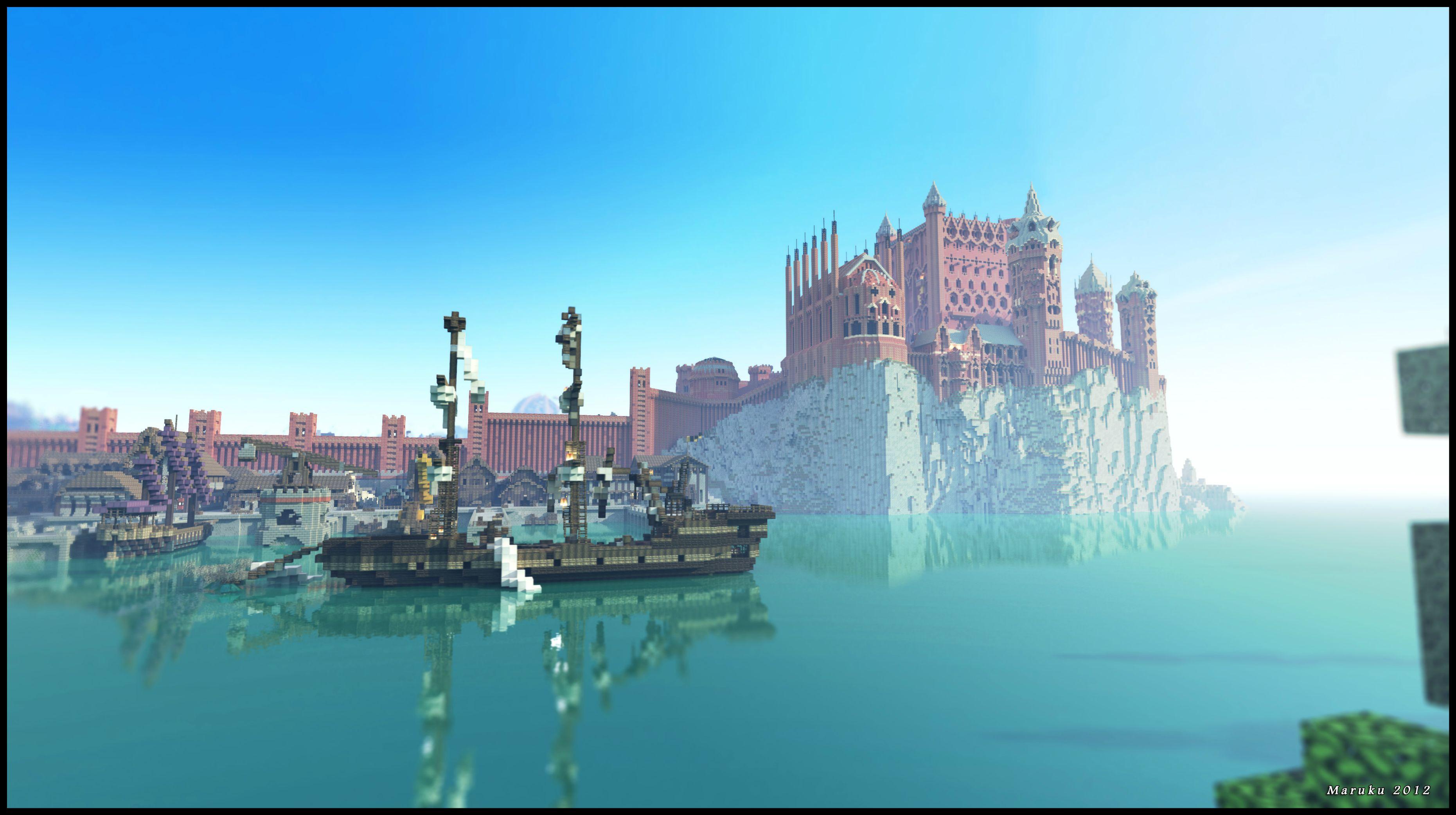 Майнкрафт игра престолов карта