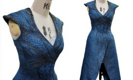 8 - DAENERYS TARGARYEN DRAGONSCALE DRESS EMBROIDERY BY MICHELE CARRAGHER