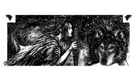 Arya Stark  by Mark Lone