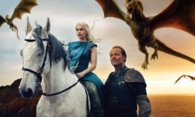 Дейнерис, Мормонт и драконы, Annie Leibovitz для Vanity Fair (март 2014)