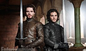Робб и Джон (EW 2013) — 3-ий сезон / фото Ian Derry