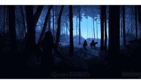 Сцена пролога первого сезона, худ. Дэниел Дэнжер / Comic-Con 2012