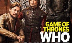 Джейме, Тирион и Джон (TV Guide 2012)