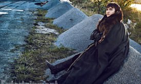 Game of Thrones - Season 7 Isaac Hempstead Wright Photograph by Marc Hom on November 22, 2016 in Belfast.