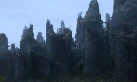 Живописные руины Харренхола