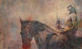 White Walker on Horseback by Bill Sienkiewicz