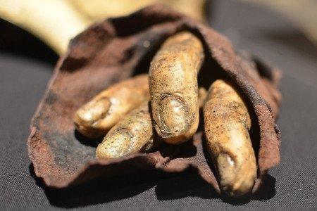 Отрубленные пальцы Давоса Сиворта выглядят очень натурально, даже с грязью под ногтями.