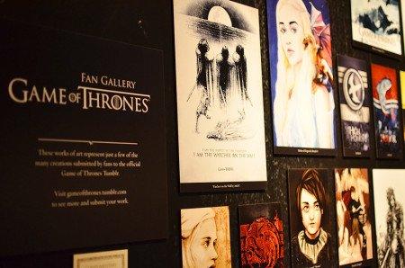 Среди поклонников Игры престолов много талантливых художников. На выставке представлен фан-арт, отобранный через tumblr-блог сериала.