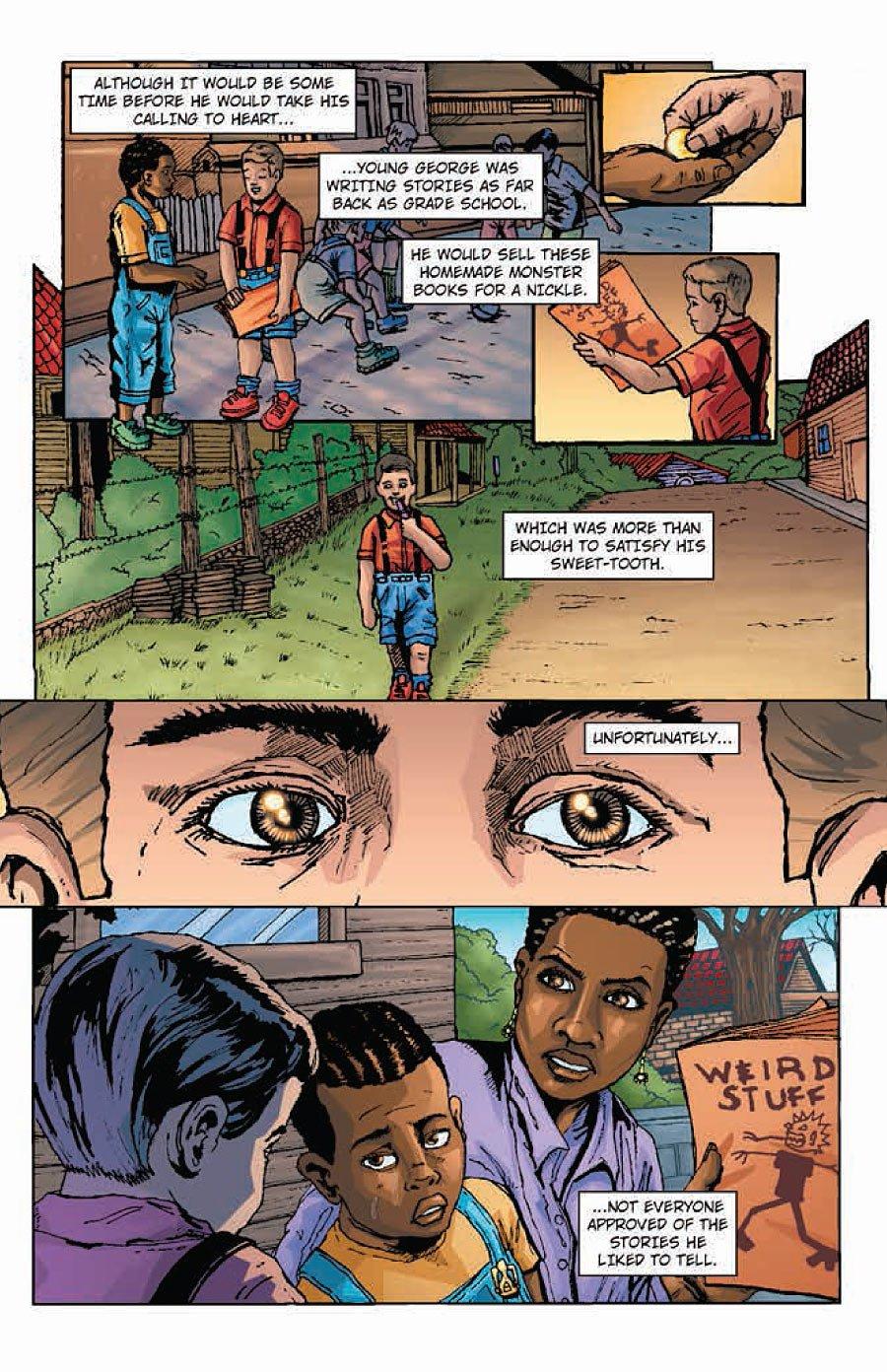 Превращение мальчика комикс 12 фотография