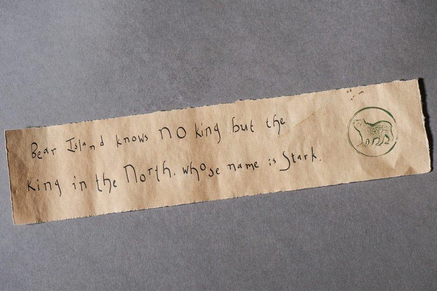 Письмо леди Лианны Станнису Баратеону