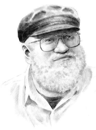 Портрет Джорджа Мартина