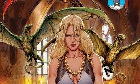 Игры престолов, вып. 15, спец. обложка для Comic-Con 2013