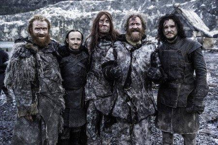 Mastodon с актерами Игры престолов играли одичалых в Суровом Доме (5 сезон)