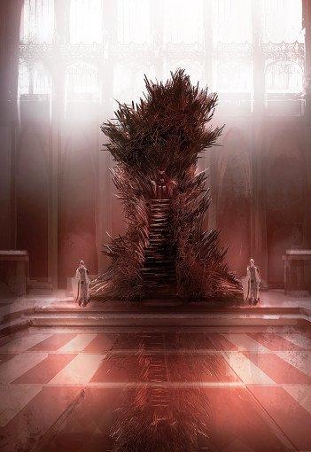 Марк Симонетти. Железный трон (версия 1)