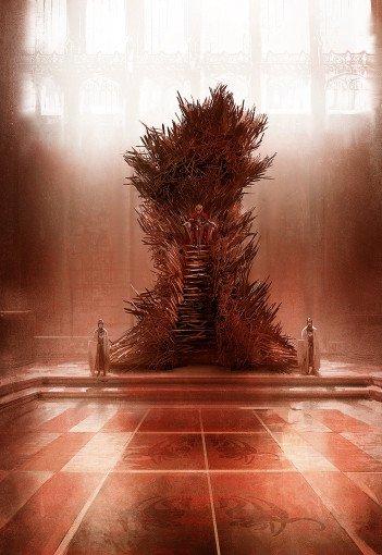 Марк Симонетти. Железный трон (версия 2)