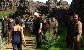Съемки в Исландии
