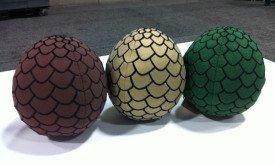 Плюшевые драконьи яйца