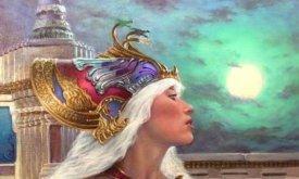 (Иллюстрация не вошедшая в книгу) Дени в короне