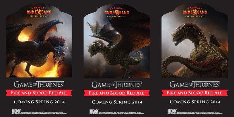 Драконы Дейенерис, слева направо: Дрогон, Визерион, Рейегаль