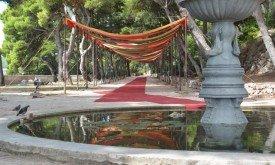 Декорации в Gradac Park