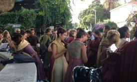 Съемки Пурпурной Свадьбы (массовка)