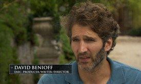 Сценарист, исполнительный продюсер и мотор Игры Престолов Дэвид Беньофф призывает восхититься масштабом сериала (локации в 4 странах, полгода съемок, огромное число действующих лиц по обе стороны от камеры…)