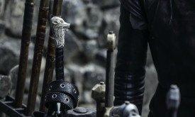 Навершие меча в профиль