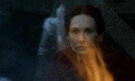 Мел сквозь пламя костра
