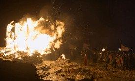 В Вестеросе с врагами расправляются более традиционными методами. Особенно с врагами веры.