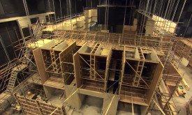 Стройка в студии Paint Hall (в Белфасте)
