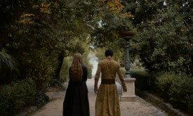 Прогулка Серсеи и Оберина в садах Гавани живо вызывает в памяти прогулку Серсеи с королевским десницей в первом сезоне
