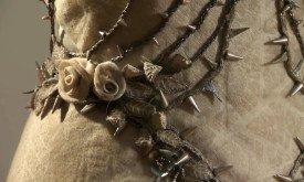 Платье Маргери с шипами