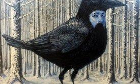 Трезглазая ворона, худ. Аарон Ясински