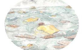 Сон о потопе, худ. Дейв Клок