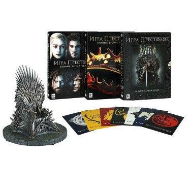 Подарочное издание трех сезонов на DVD