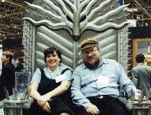 Энн Гроелл и Джордж Мартин много-много лет тому назад