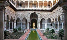 Алькасар в Севилье, Испания