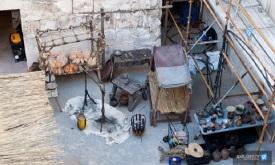 Декорации таверны вблизи дворца Диоклетиана