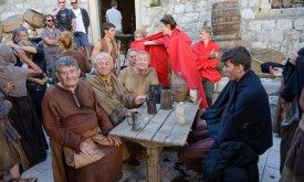 Статисты Игры престолов на улицах Дубровника (26 сентября)