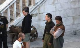 Съемки в Шибенике