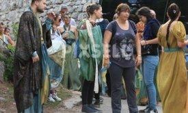 Съемки миэринских сцен в Шибенике