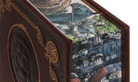 Срезы книжного блока оформлены по мотивам сериала