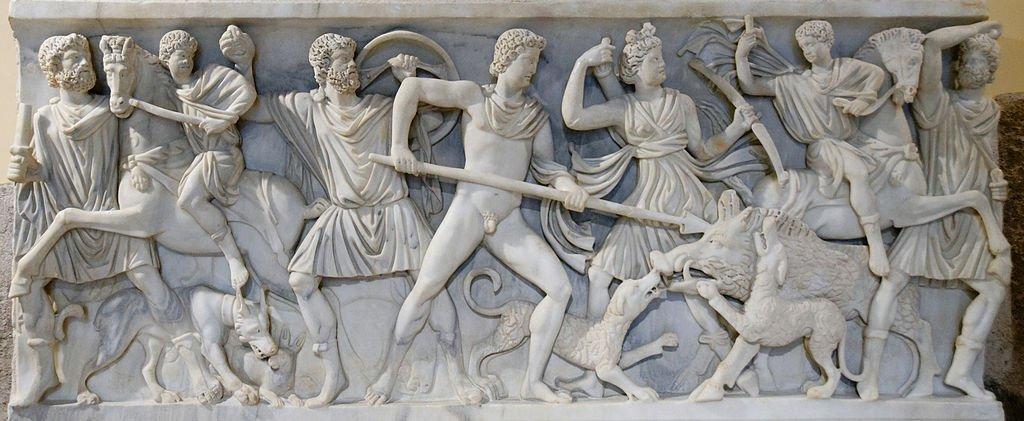 Охота за Калидонским вепрем