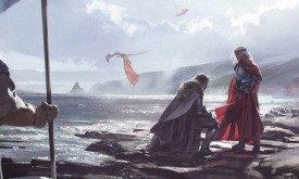 Торрхен Старк преклоняет колено