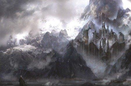 Драконий Камень, илл. из книги «Мир Льда и Пламени», худ. Филип Страуб