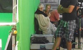 Лена Хиди с Полом Бентлеи , который играл в двух последних сезонах Верховного септона